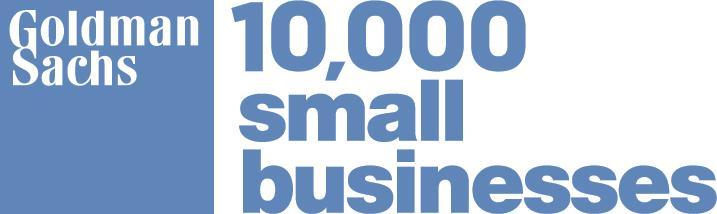 Goldman Sach 10,000 Small Businesses