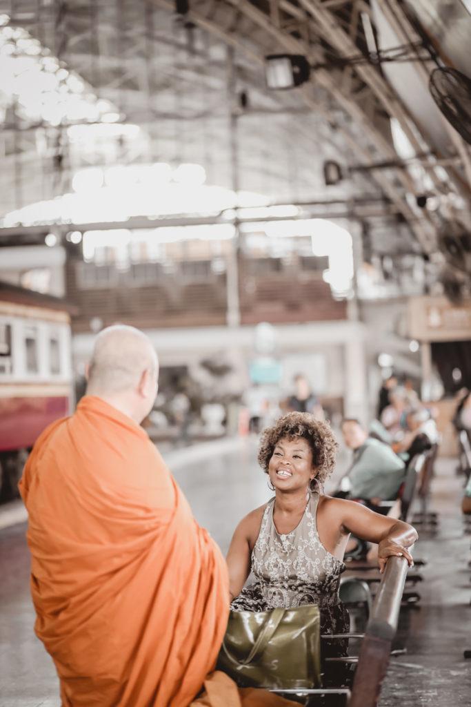 monique-talking-with-monk